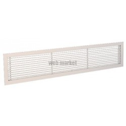 ALDES GRIDLINED WALL F3 400X100 RAL9010 CFG