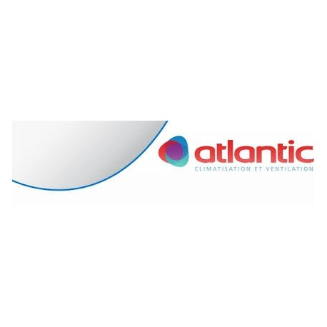 ATLANTIC BHB 10/40 O - BOUCHE D'EXTRACTION HYGRORÉGLABLE SDB SANS FÛT PLATINE